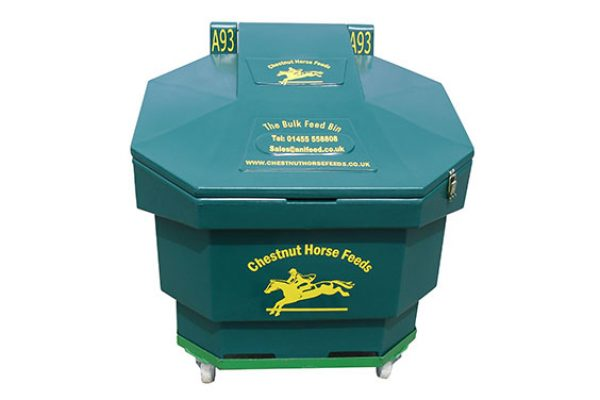 Chestnut Horse Feeds exclusive Bulk Bin Feeding System