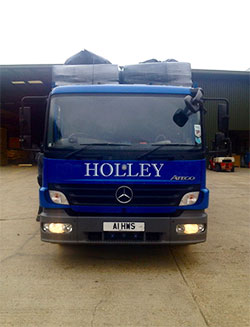 Holley Woodshavings lorry