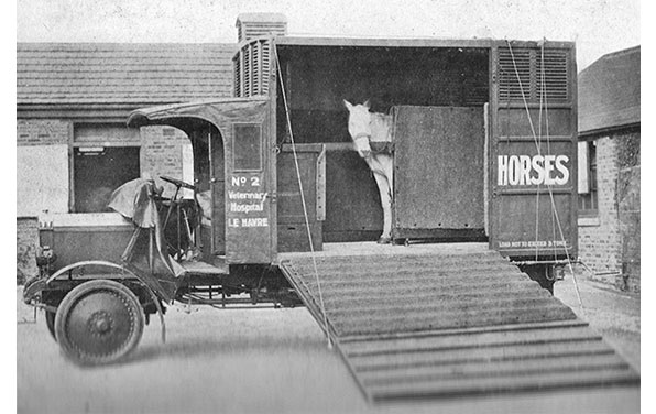 Horse Trust World War 1 Ambulance