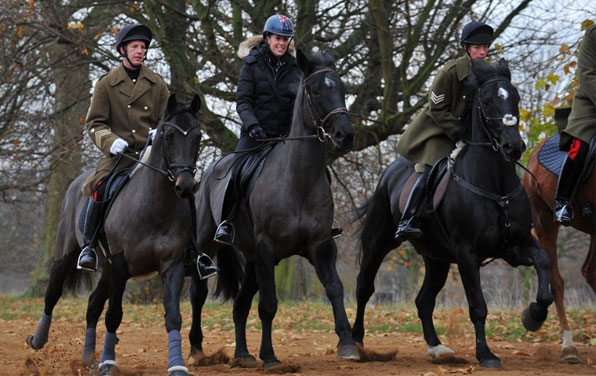 Dujardin-with-Household-Cavalry