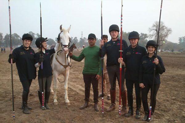 British Tent-pegging-team