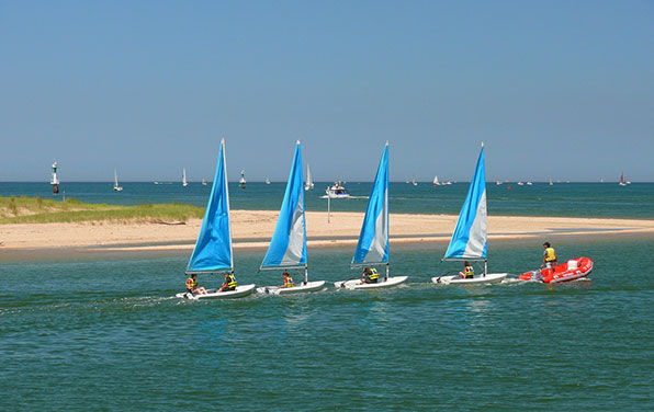 Sailing-of-the-Coast-of-Normandy