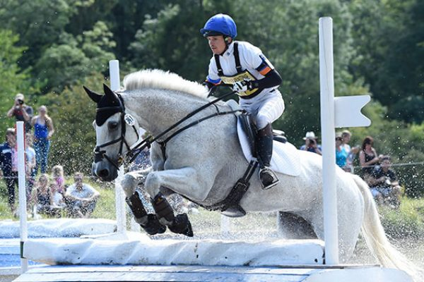 Francis Whittington at Gatcombe 2014