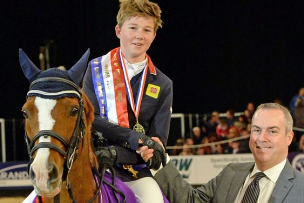 Harry Charles and-Scoubidou IV Leading Pony Showjumper of the year 2014