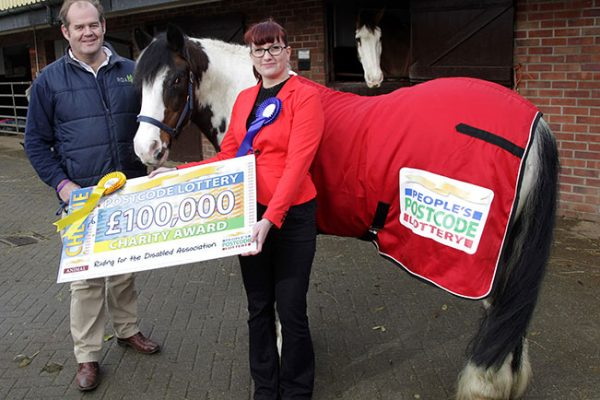 RDA-Cheque for £100,000