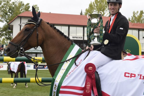 Scott Brash and trophy