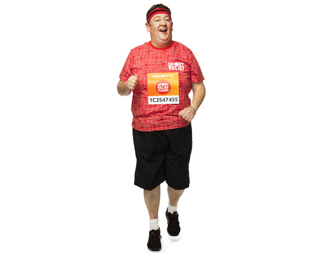 Comedian Johnny Vegas