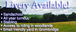 Livery Available in Groombridge