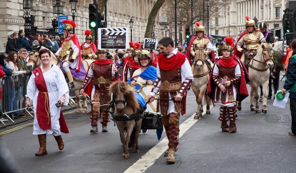 Ben Hur New Year's Day Parade