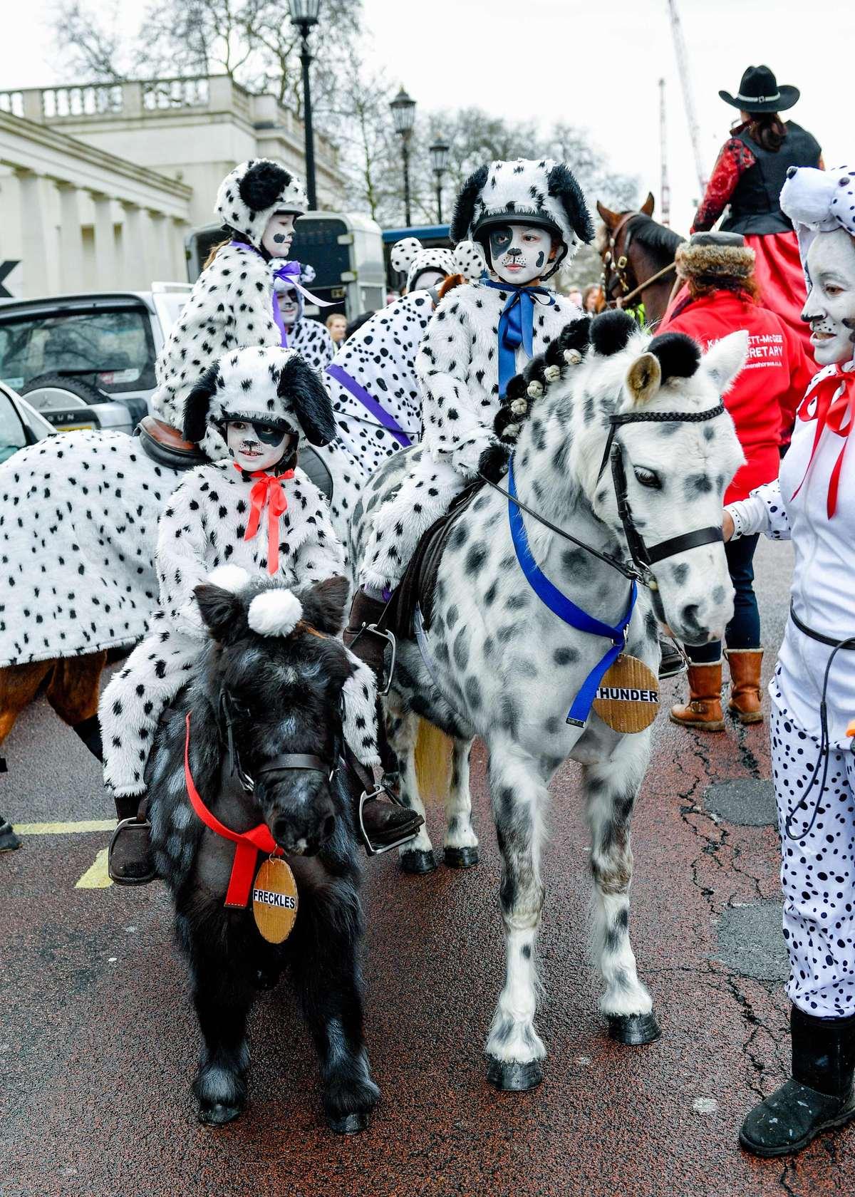 101 Dalmatians New Year's Day Parade London