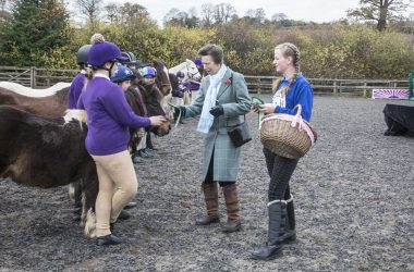 HRH Princess Anne Pony Club