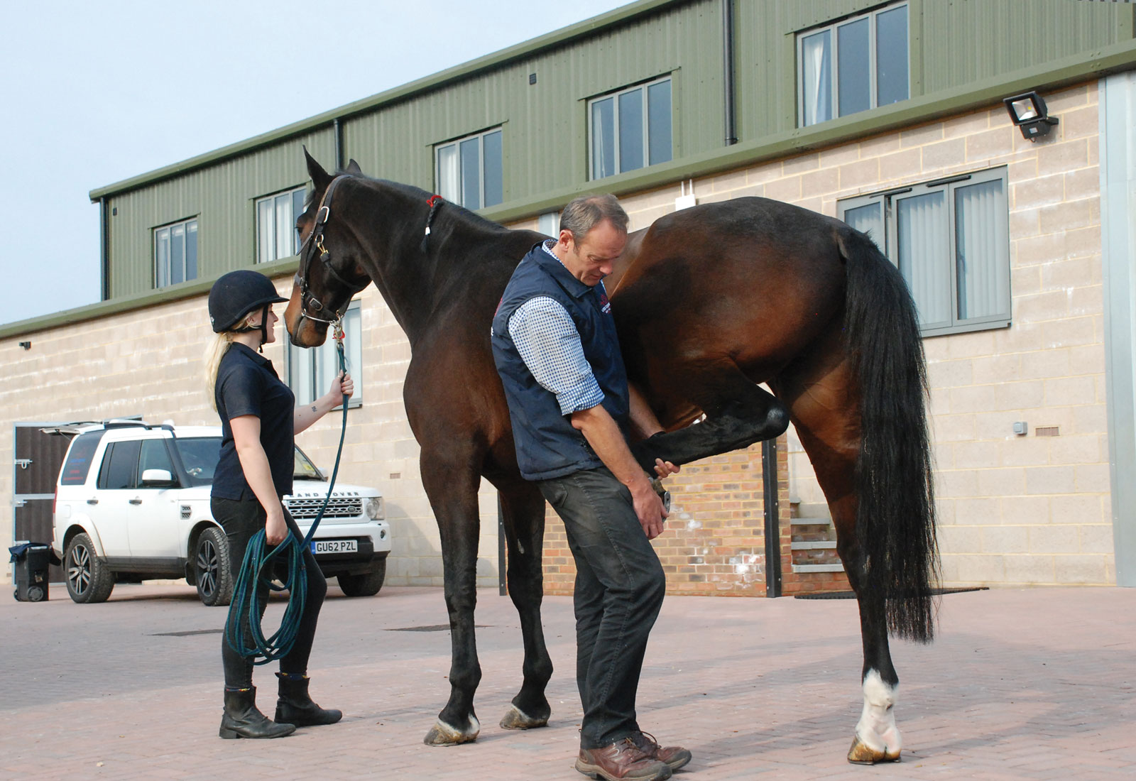 Inside the newly built Sussex Equine Hospital - Localrider