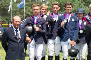 British Showjumpers team Silver