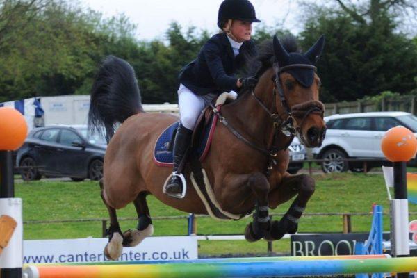 Claudia Moore LeMieux Pony Showjumping Europeans