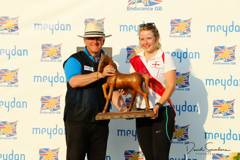 Ella Bunting National Endurance Champion