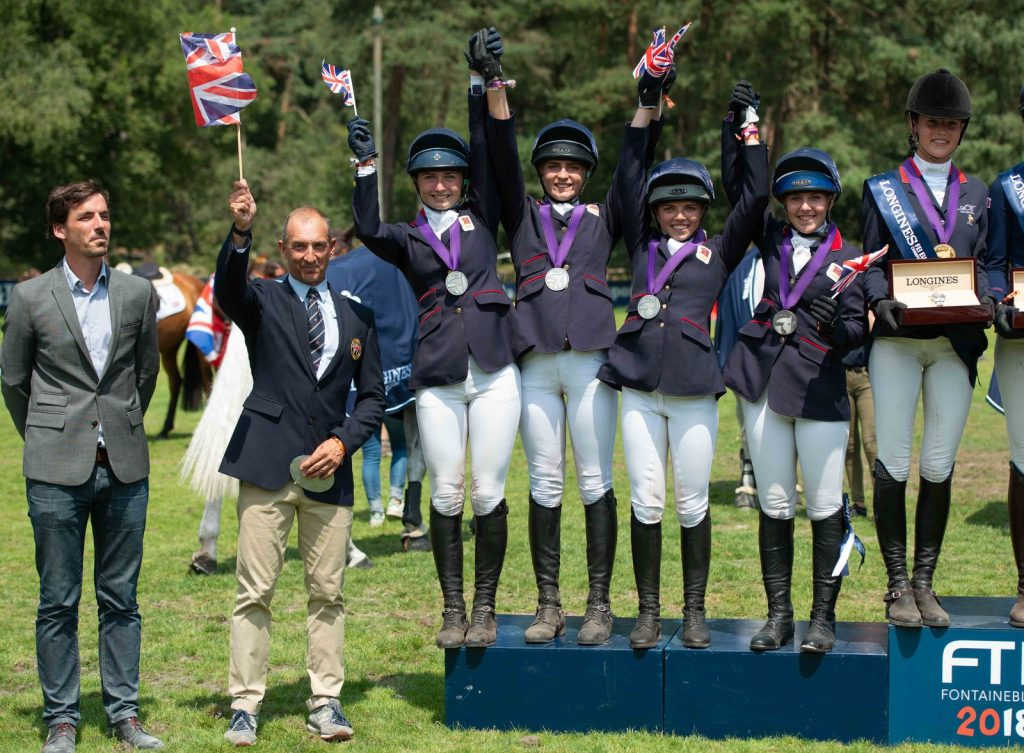 Junior European Eventing Team