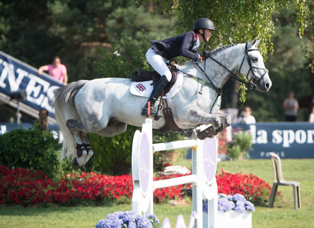 Oliver Fletcher double silver at the Junior European Showjumping Championships