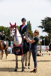 Honor Redhouse British Showjumping Championships