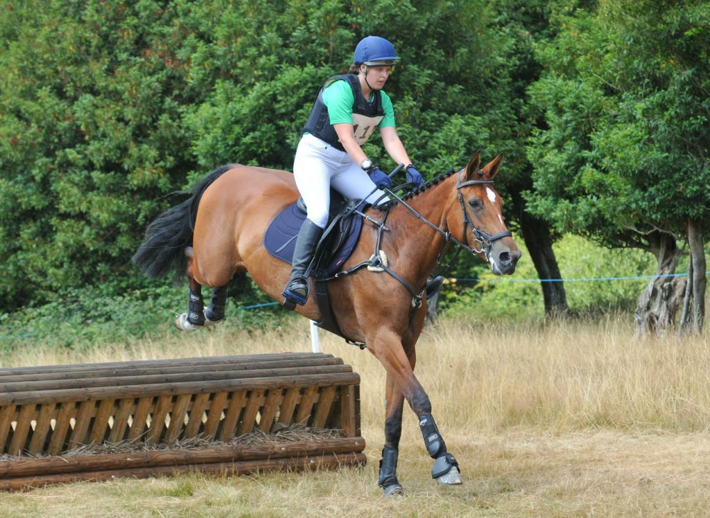 Rebecca Hill and Cill Eoghain Lady at Eridge