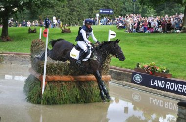 Nicola Wilson and Opposition Buzz, Burghley 2013