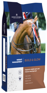 Feed your horse Dodsonn & Horrell's Build & Glow this winter